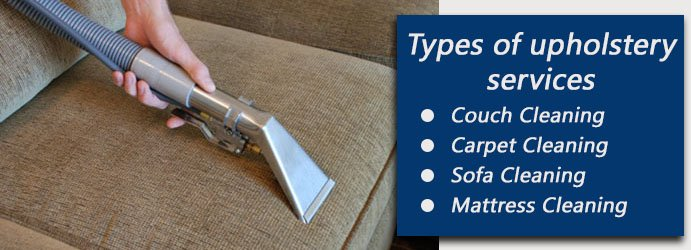 Types of Upholstery Cleaning Services Denver