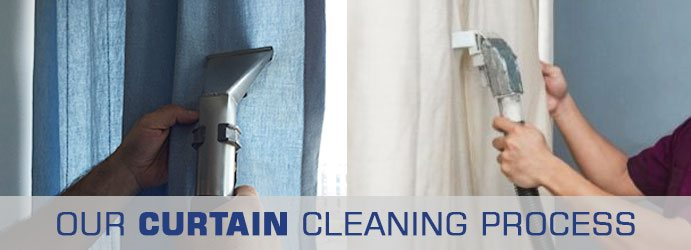 Curtain Cleaning Process Sunbury