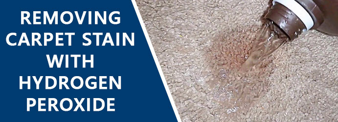 Removing Carpet Stain With Hydrogen Peroxide Melbourne