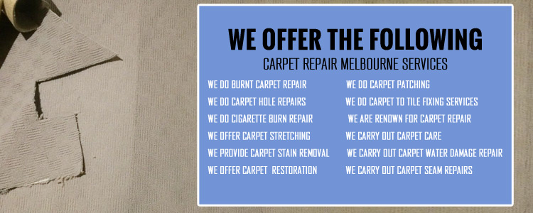 Carpet-Repair-Sunshine West-Services