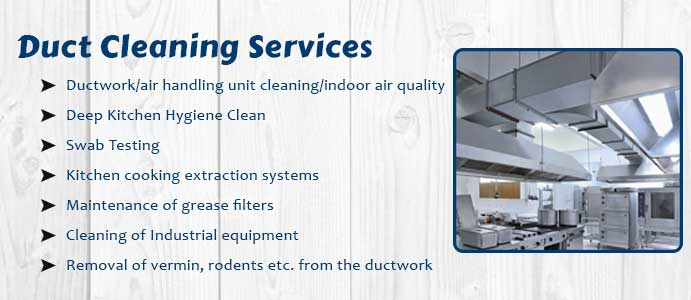 Duct Cleaning Services Mittons Bridge