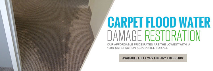Carpet Water Damage Restoration Indented Head