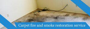 Carpet Fire and Smoke Restoration Service