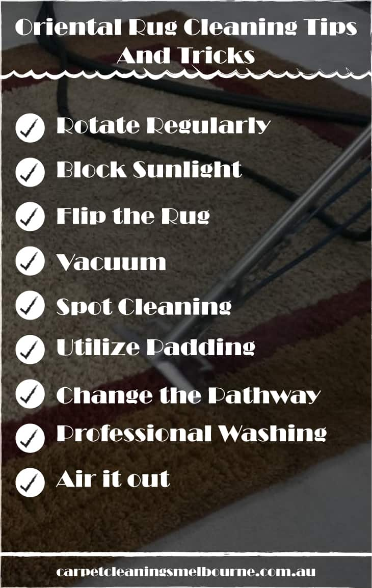 Oriental Rug Cleaning Tips And Tricks