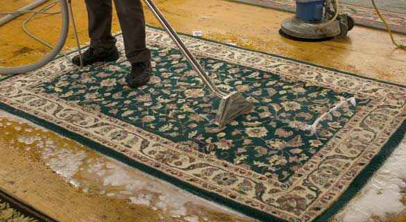 Rug Cleaning The Heart